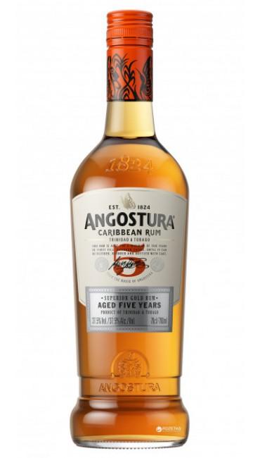 Ром Angostura 5 Year Old 0.7 л 40%