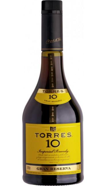 Бренди Torres 10 лет выдержки 0.7 л 38%