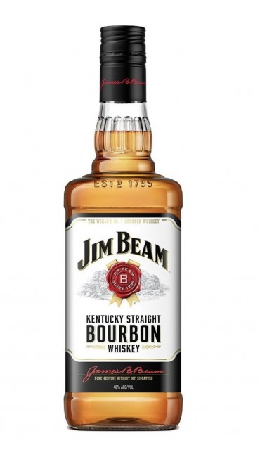 Виски Jim Beam White 4 года выдержки 0.7 л 40%