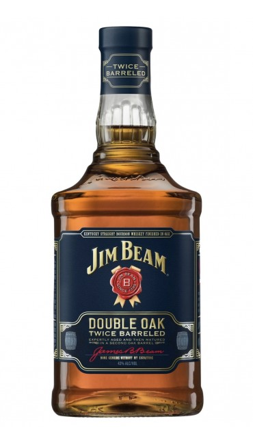 Виски Jim Beam Double Oak 4 - 5 лет выдержки 0.7 л 43%