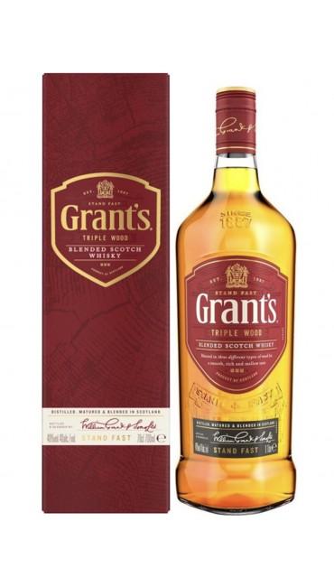 Виски Grants Triplewood 0.7 л 40% в коробке