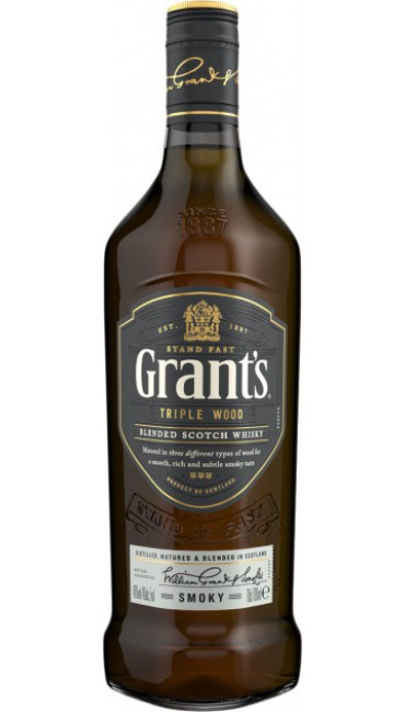 Виски Grant's Triplewood Smoky 5-6 лет выдержки 0.7 л 40%