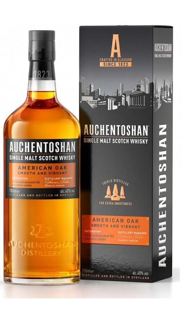 Виски Auchentoshan American Oak 8 лет выдержки 0.7 л 40%