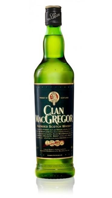 Виски Clan MacGregor 3 года выдержки 0.7 л 40%