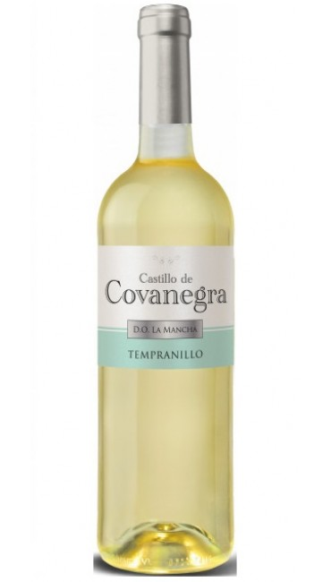 Вино Castillo de Covanegra DO La Mancha dry white wine Airen белое сухое 0.75 л 11%