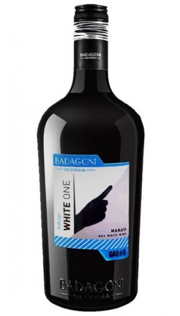 Вино Badagoni GAU#5 White One Манави белое сухое 0.75л