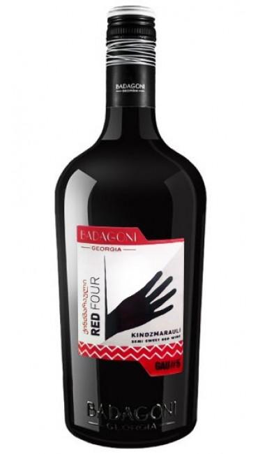 Вино Badagoni GAU#5 Red Four Киндзмараули красное п/сладкое 0.75л