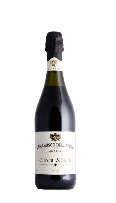 Игристое вино Lambrusco Rosso красное п/сладкое 0.75л