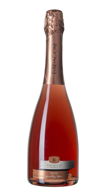 Игристое вино Badagoni Rose п/сладкое 0.75л