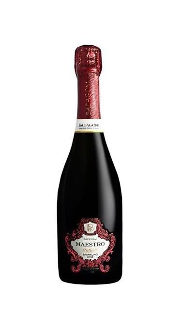 Игристое вино Badagoni Maestro Saperavi красное п/сладкое 0.75л