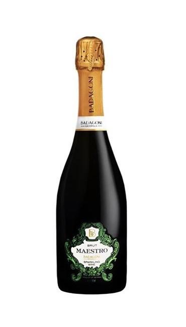 Игристое вино Badagoni Maestro Brut белое 0.75л