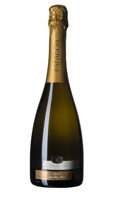 Игристое вино Badagoni Brut белое 0.75л