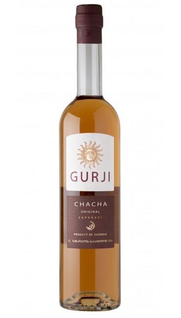 Грузинская чача Gurji original саперави 40% 0.5л