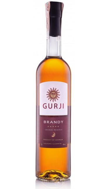 Грузинский Бренди Gurji Grande Reserve 5* 40% 0.5л