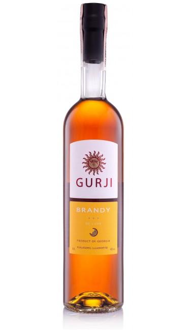 Грузинский Бренди Gurji De Luxe 3* 40% 0.5л