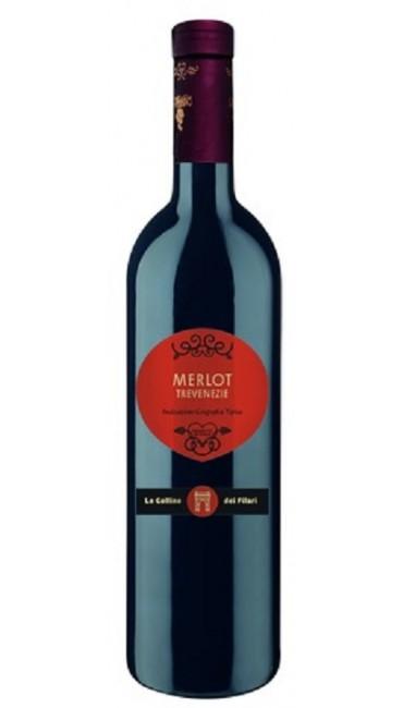Вино Le Colline dei Filari Trevenezie Мерло красное сухое 12% 0,75л