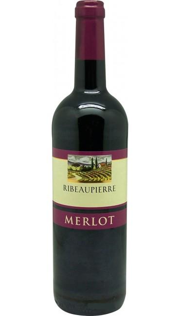 Вино Ribeaupierre Merlot красное сухое 12,5% 0,75л