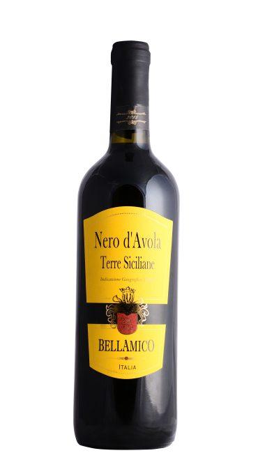 Вино Nero d'Avola Terre Siciliane красное п/сухое 0.75л