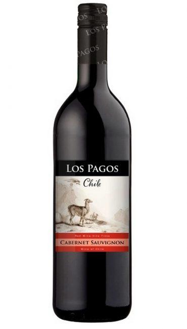Вино Los Pagos Каберне Совиньон красное сухое 0.75л