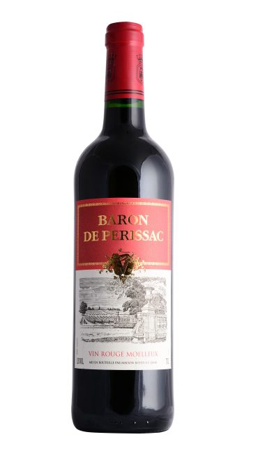 Вино Baron de Perissac Vin Rouge Moelleux красное п/сладкое 0.75л