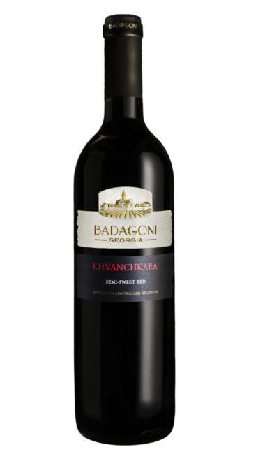 Вино Badagoni Хванчкара красное п/сладкое 0.75л