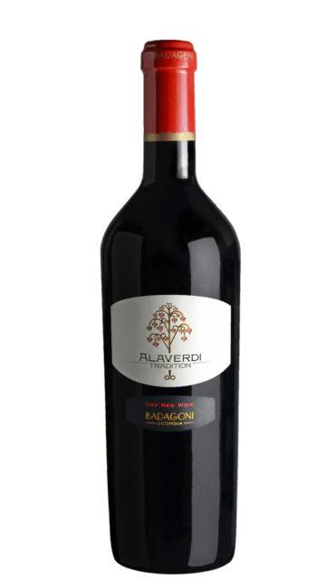 Вино Badagoni Традиции Алаверди красное сухое 0.75л