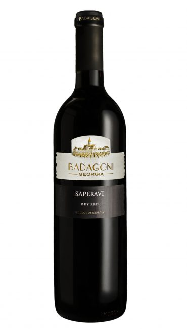 Вино Badagoni Саперави красное сухое 0.75л