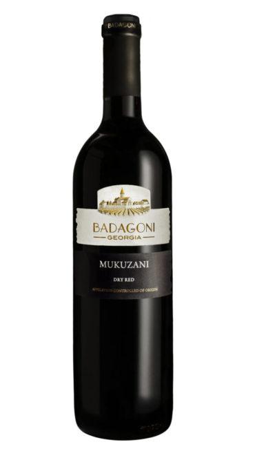 Вино Badagoni Мукузани красное сухое 0.75л