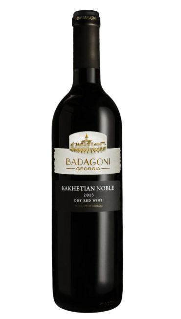 Вино Badagoni Кахетинское Благородное красное сухое 0.75л