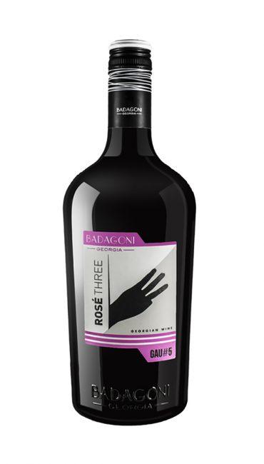 Вино Badagoni GAU#5 Rose Three розовое п/сухое 0.75л
