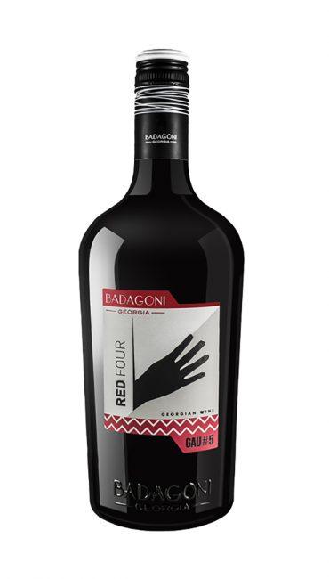 Вино Badagoni GAU#5 Red Four красное п/сладкое 0.75л