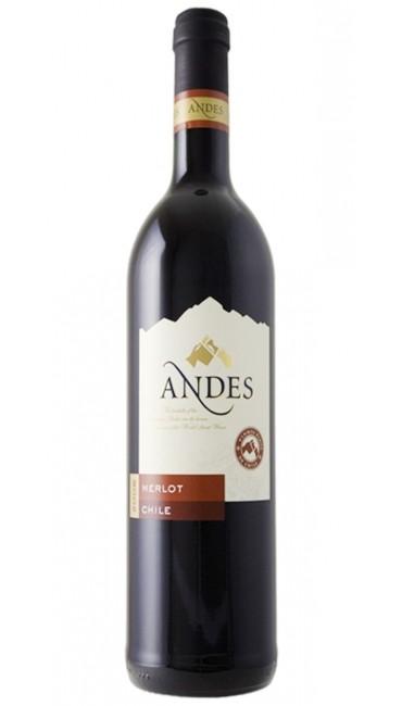 Вино Andes Merlot красное сухое 0,75л 13%