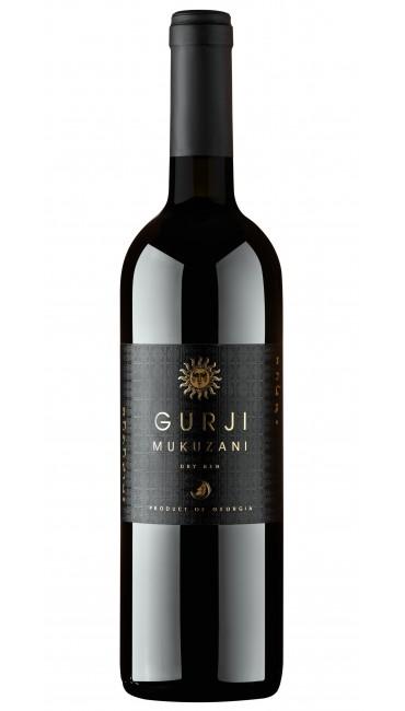 Вино Gurji Мукузани красное сухое 0,75 л