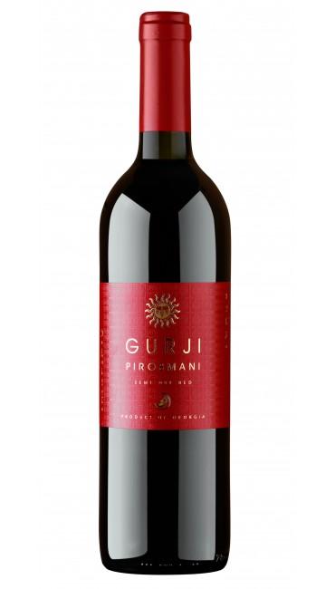 Вино Gurji Пиросмани красное полусухое 0,75 л