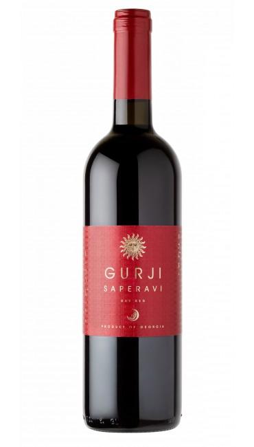 Вино Gurji Саперави красное сухое 0,75 л