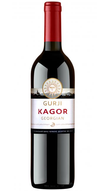 Десертное вино Gurji Кагор Грузинский 0.75л