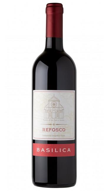 Итальянское вино Basilica Refosco IGP красное сухое 0.75л