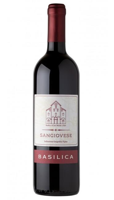 Итальянское вино Basilica Sangiovese IGP красное сухое 0.75л