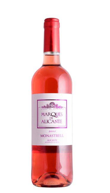 Вино Marques de Alicante Monastrell розовое сухое 0.75л