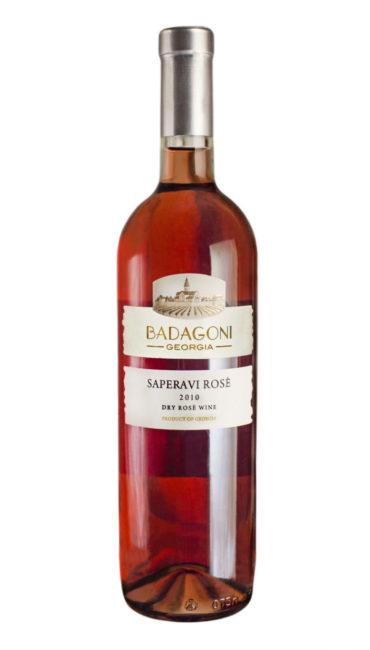Вино Badagoni Саперави Розе сухое 0.75л