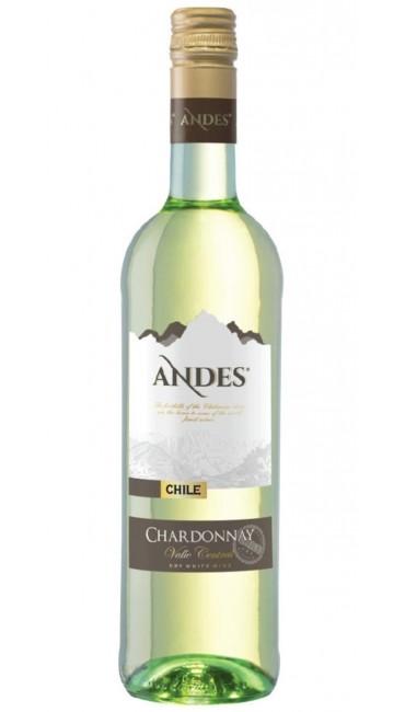 Вино Andes Chardonnay белое сухое 0,75л 13.5%