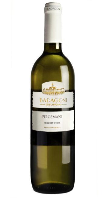 Вино Badagoni Пиросмани белое п/сухое 0.75л