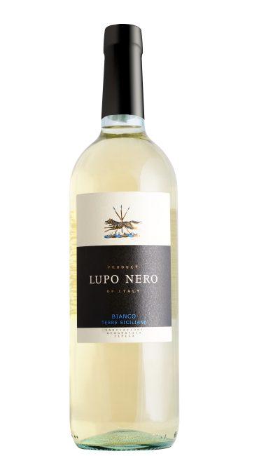 Вино Lupo Nero Вianco Terre Siciliane белое сухое 0.75л