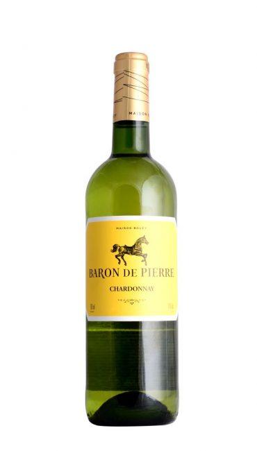 Вино Baron de Pierre Chardonnay белое сухое 0.75л