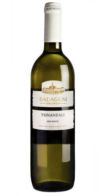 Вино Badagoni Цинандали белое сухое 0.75л