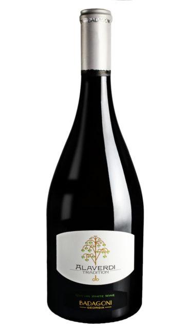 Вино Badagoni Традиции Алаверди белое сухое 0.75л