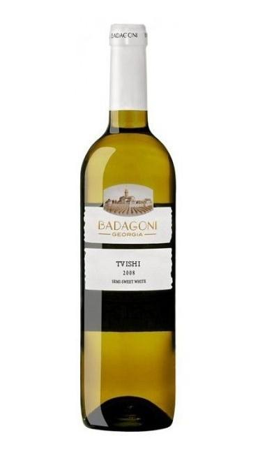 Вино Badagoni Твиши белое п/сладкое 0.75л