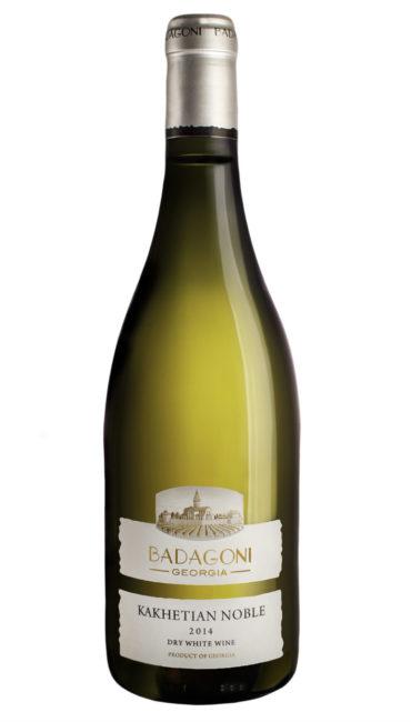 Вино Badagoni Кахетинское Благородное белое сухое 0.75л