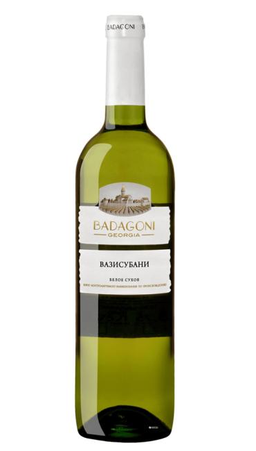 Вино Badagoni Вазисубани белое сухое 0.75л
