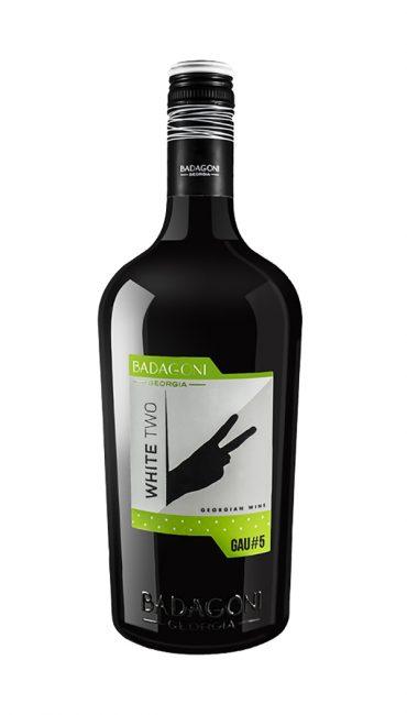 Вино Badagoni GAU#5 White Two белое п/сухое 0.75л